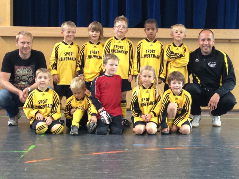 Bambinis des SV Waldhausen